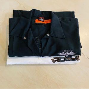 Men's Dickies & Lucky 13 Button Downs Shirts SZ XL